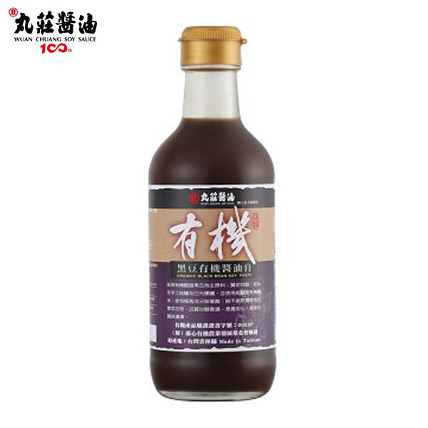 《丸莊》黑豆有機醬油膏350g/瓶(共2瓶)