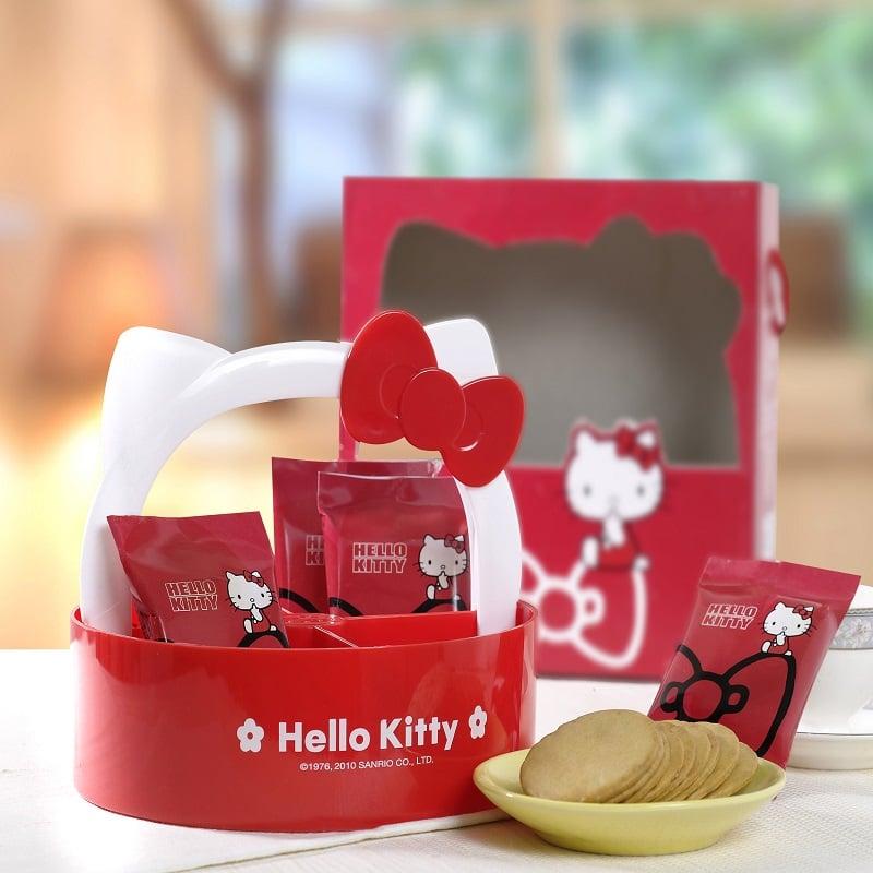 Hello Kitty檸檬餅乾-造型盤(8包/入)