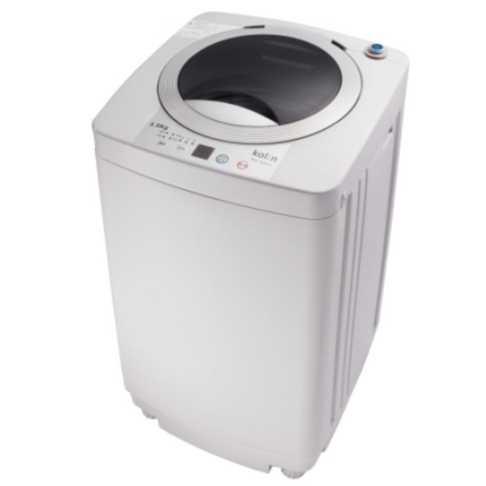 【KOLIN 歌林】3.5KG 單槽洗衣機-灰白 BW-35S03