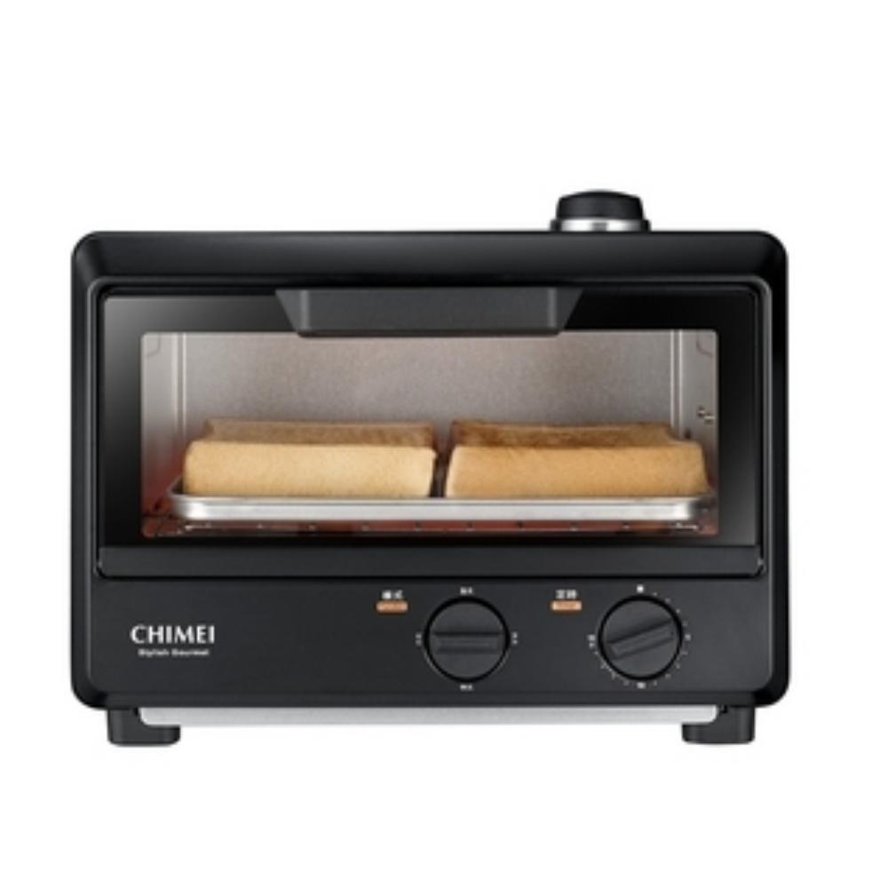 奇美10公升蒸氣加濕功能遠紅外線電烤箱烤箱EV-10T0AK