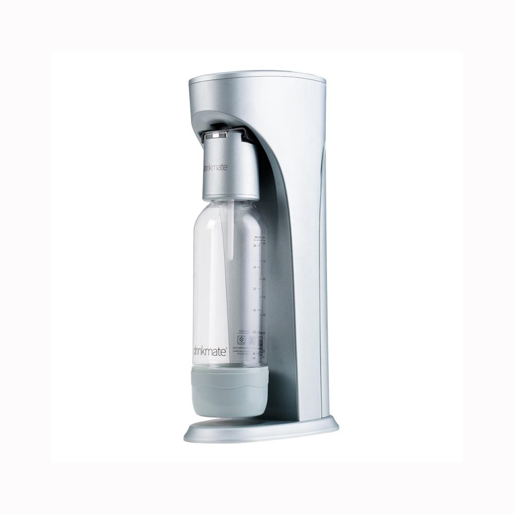 Drinkmate Rhino410 氣泡水機1L+0.5L水瓶CO2瓶 犀牛機 湖水綠
