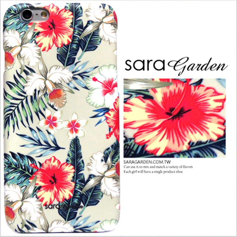 【Sara Garden】客製化 手機殼 SONY Z5P Z5 Premium 熱帶 繽紛 蘭花 叢林 保護殼 硬殼
