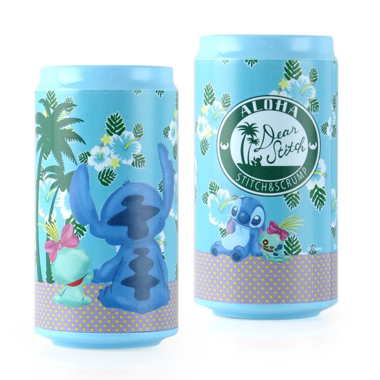 Disney迪士尼 10400 夏日史迪奇 飲料罐造型行動電源/移動電源