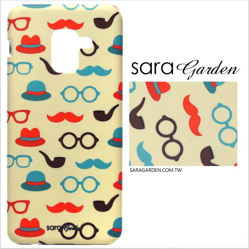 【Sara Garden】客製化 手機殼 SONY XA1 Ultra 英倫翹鬍子 手工 保護殼 硬殼