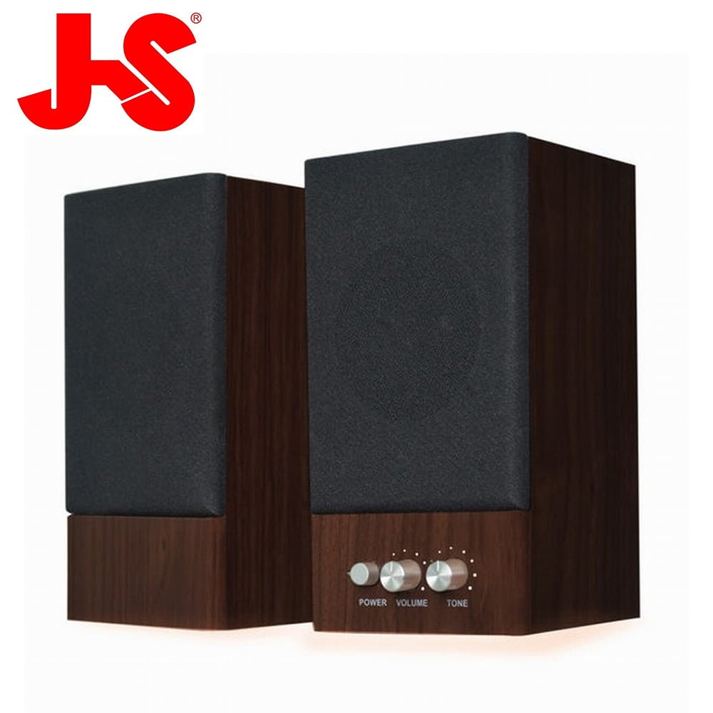 JS 淇譽電子 木匠之音 2.0聲道二件式多媒體喇叭 JY2039