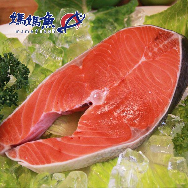 《媽媽魚N》阿拉斯加鮭魚切片(200g/片,共兩片)