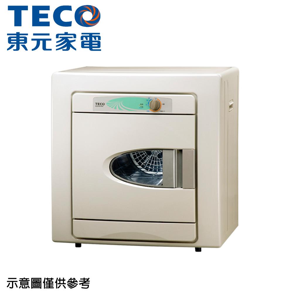 【TECO 東元】6KG乾衣機QD-6581NA(只送不裝)