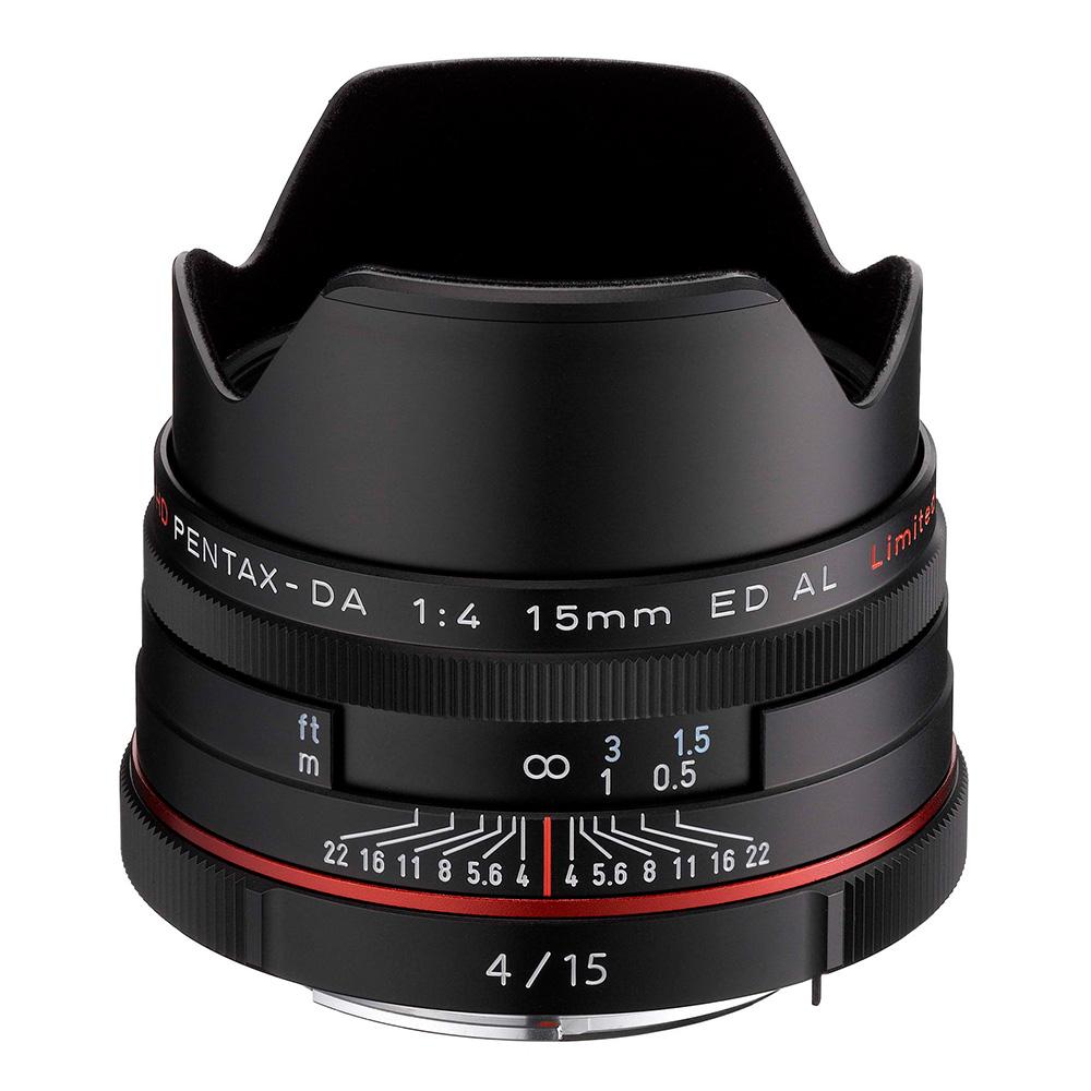 PENTAX HD DA 15mm F4 ED AL Limited_黑色【公司貨】