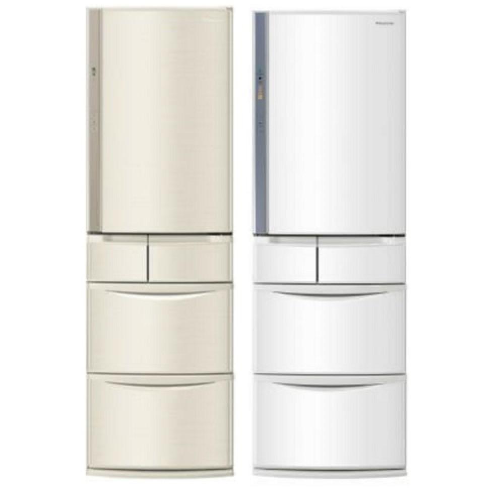【Panasonic國際牌】411公升五門變頻冰箱NR-E414VT-N1香檳金