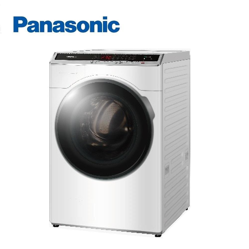洗衣機/PANASONIC NA-V160HDH-W 16KG洗脫烘滾筒 晶鑽白