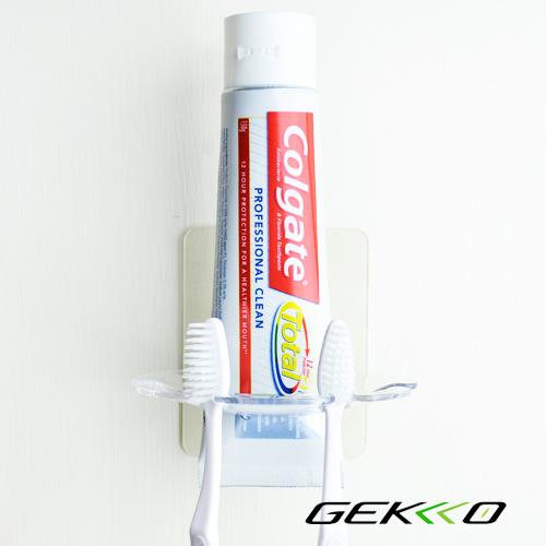 [買一送一] GEKKO NUDE系列 盥洗收納 / 牙刷牙膏架