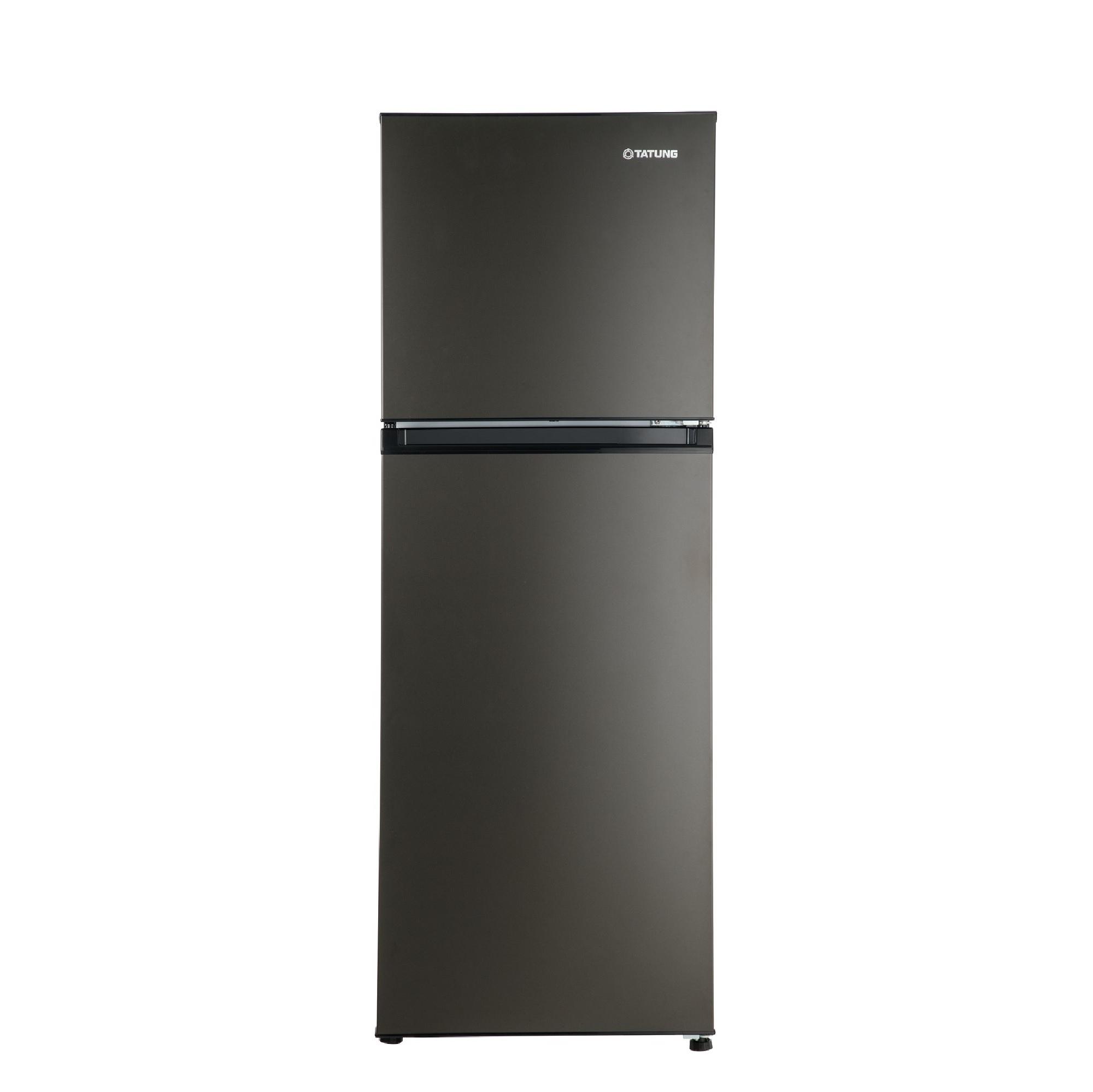 大同310L變頻雙門冰箱(黑)
