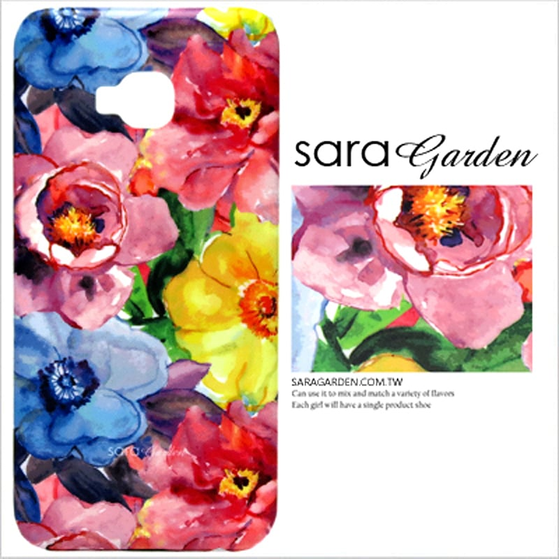 【Sara Garden】客製化 手機殼 ASUS 華碩 Zenfone4 Max 5.5吋 ZC554KL 滿版碎花 保護殼 硬殼