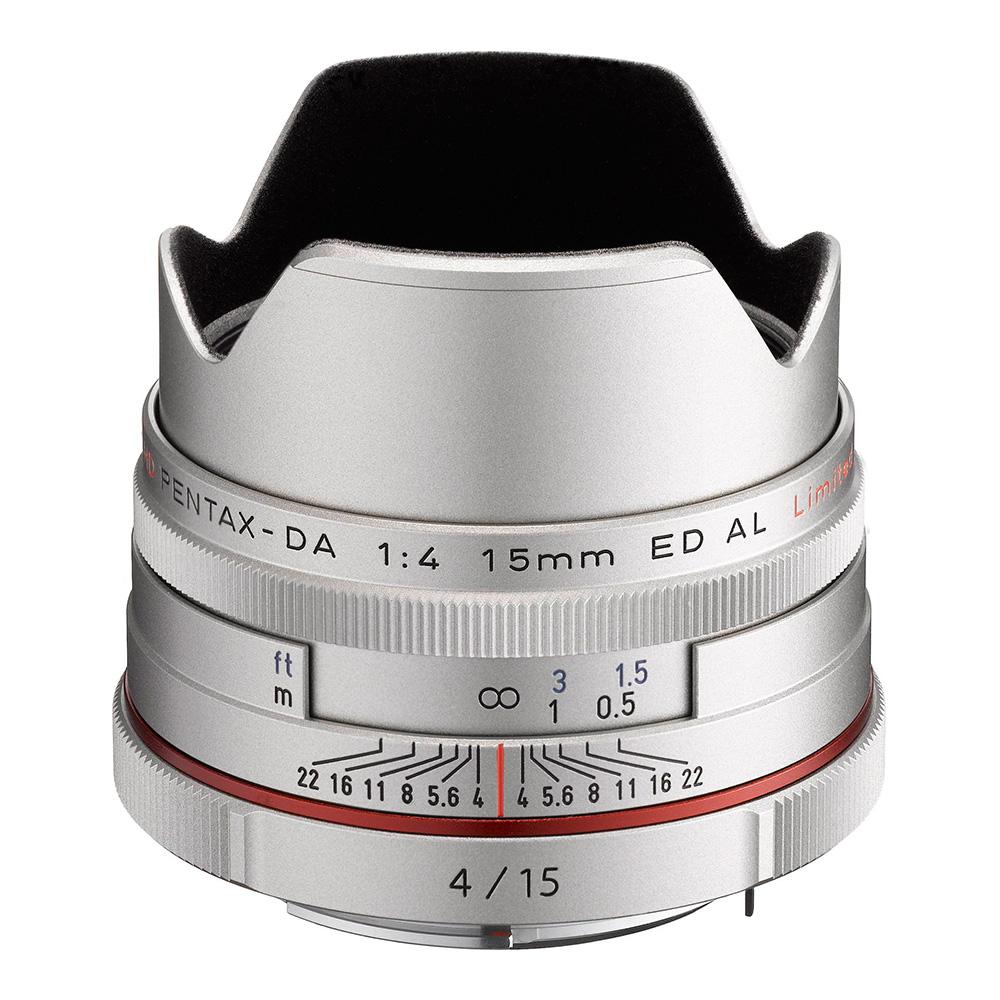PENTAX HD DA 15mm F4 ED AL Limited_銀色【公司貨】