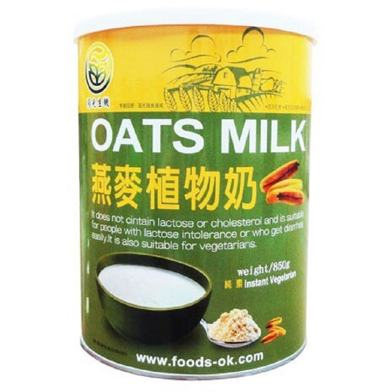 【陽光生機】燕麥植物奶(850g,共2罐)
