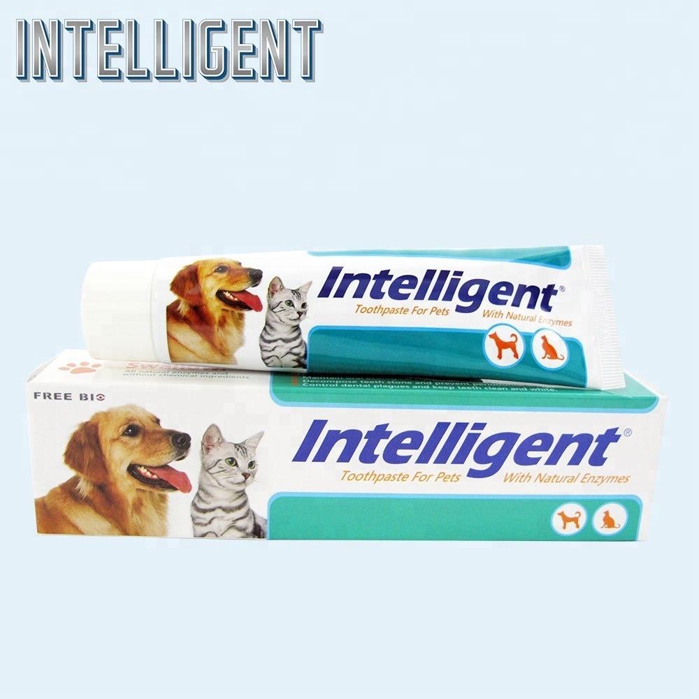 因特力淨貓犬專用酵素牙膏80g *2入 去除牙結石 口臭 牙周護理 寵物牙膏 狗牙膏 狗狗牙膏 猫咪牙膏 貓牙膏 狗刷牙 貓刷牙