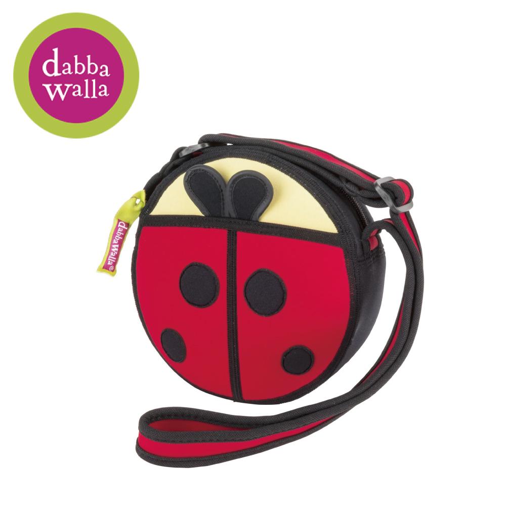 美國Dabbawalla瓦拉包 -瓢蟲小圓包