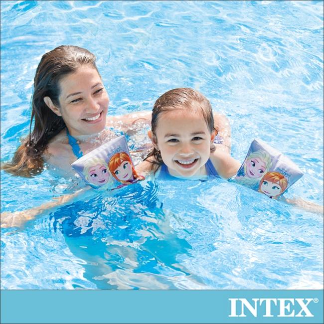 【INTEX】冰雪奇緣ELSA-臂圈 適用3-6歲(56640)
