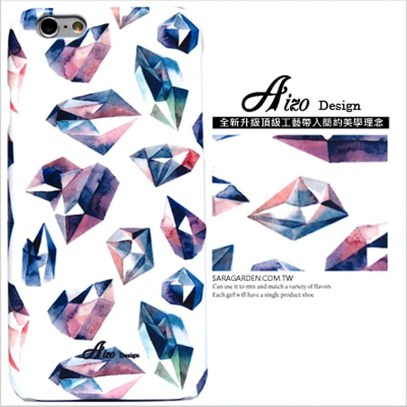 【AIZO】客製化 手機殼 蘋果 iPhone 6plus 6SPlus i6+ i6s+ 手繪 水彩 鑽石 保護殼 硬殼