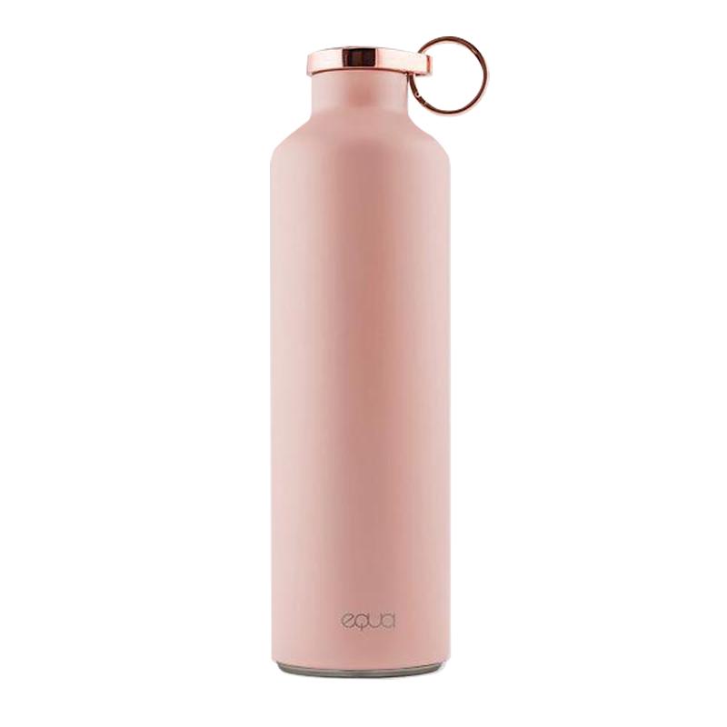EQUA 歐洲極簡奢華保溫瓶-680ml 高雅粉