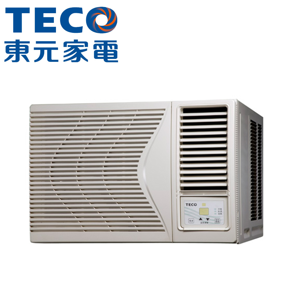 【TECO東元】 8-10坪定頻右吹窗型冷氣MW45FR1