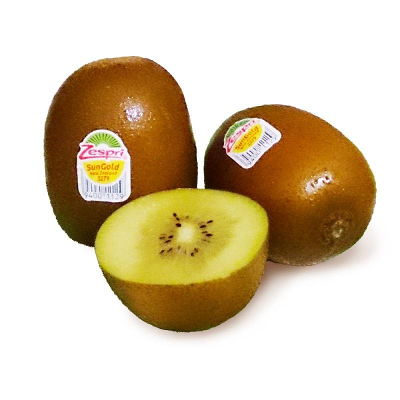 【綠安生活】紐西蘭Zespri sun gold金圓頭黃金奇異果原裝箱2箱(25-27粒/3.3kg±10%/箱)-超營養美味