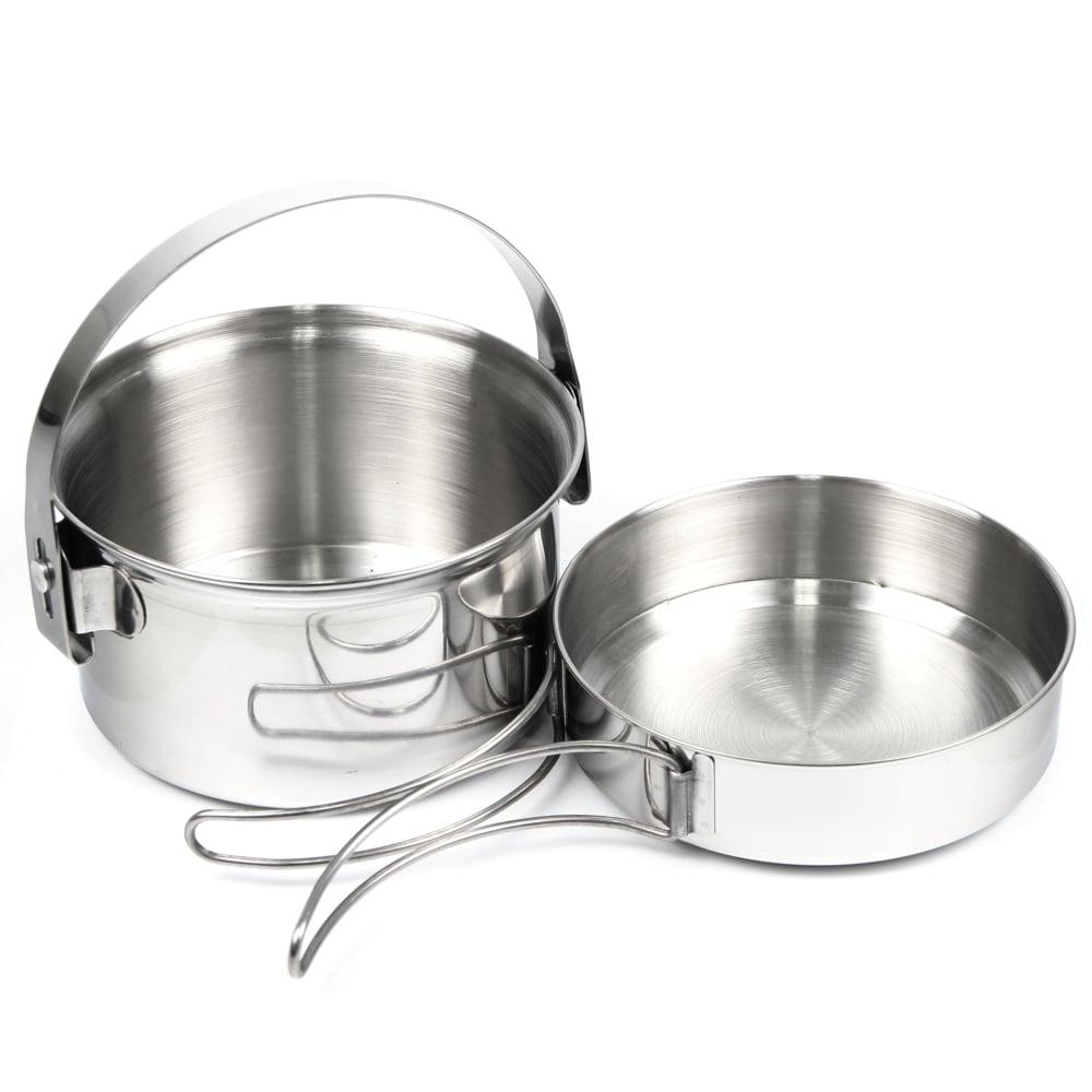 犀牛 RHINO  1-2人不鏽鋼套鍋