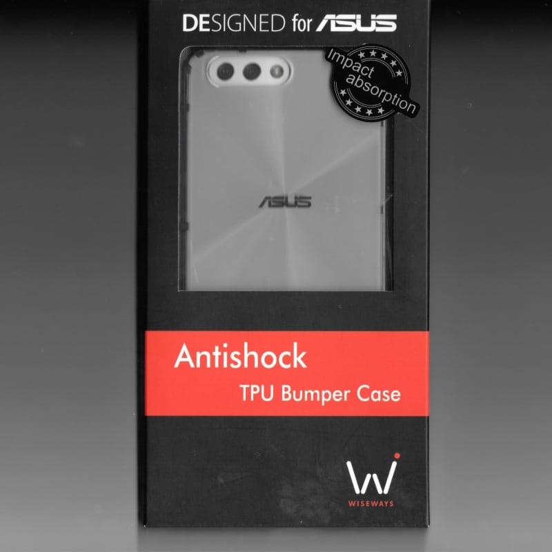 【FUKUMAYA】ASUS Zenfone 4 (透明黑)  ZE554KL Bumper case