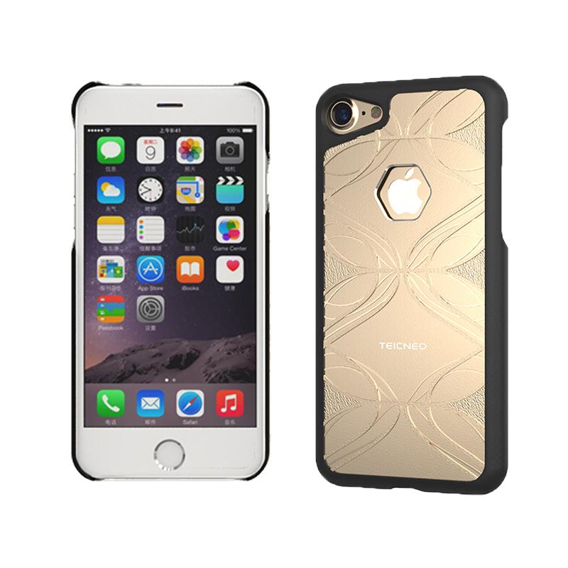 【TeicNeo】iPhone7 (4.7吋) 保護殼-思緒系列 榮耀金