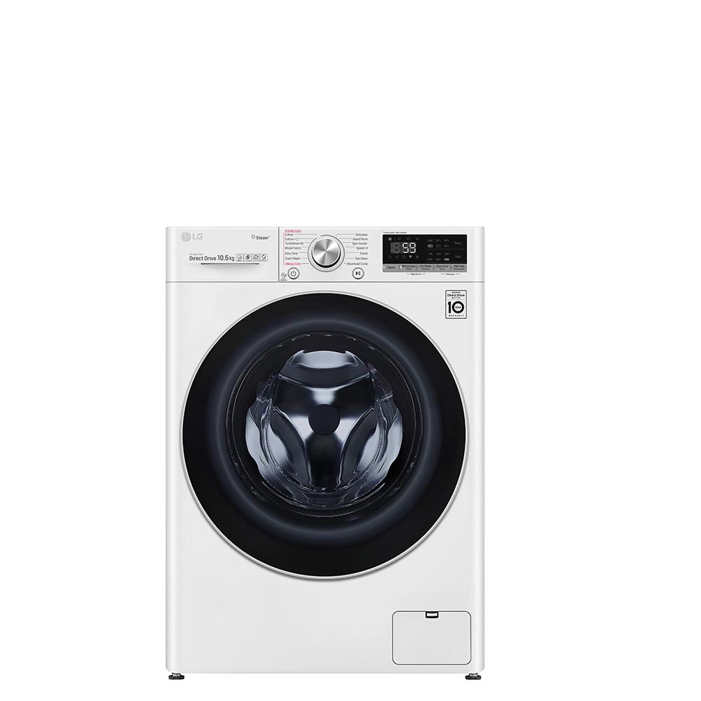 LG樂金10.5公斤蒸洗脫洗衣機WD-S105VCW