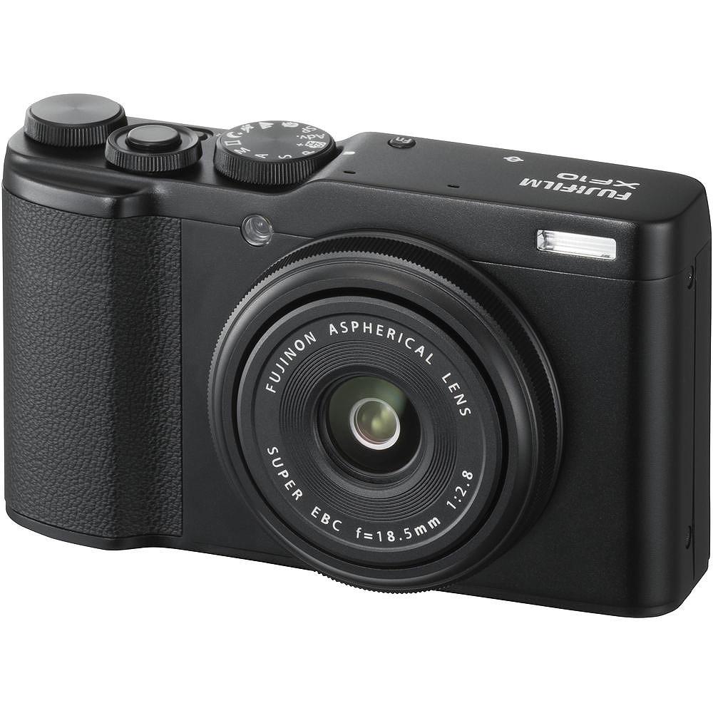 FUJIFILM XF10 輕便數位相機(公司貨)_經典黑 贈 相機包+蔡司拭鏡紙*2