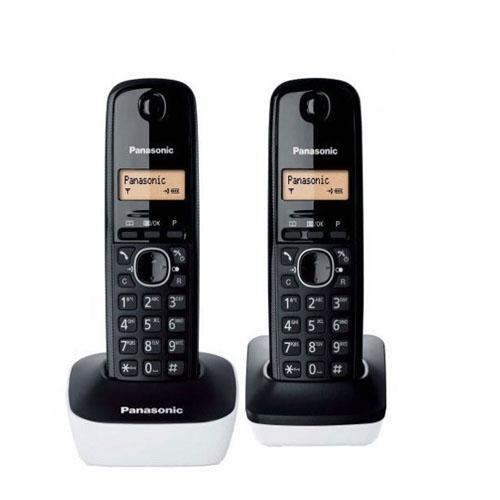 【贈國際牌負離子梳】Panasonic 國際牌 KX-TG1612TW 數位式無線電話(白色)