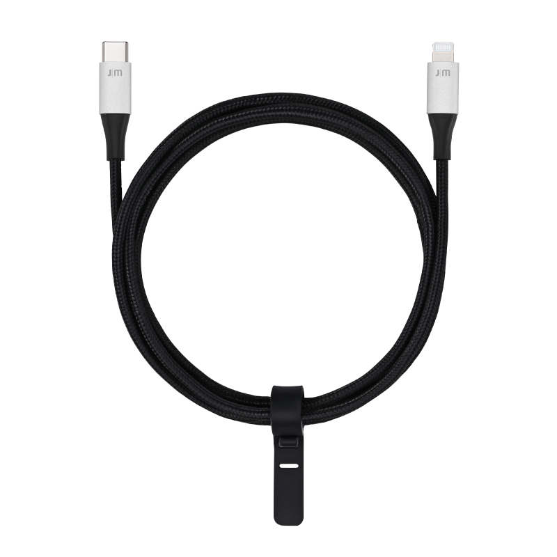 Just Mobile AluCable 鋁質 USB-C 對 Lightning 連接線(非盒裝)