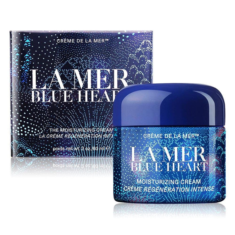 LA MER 海洋拉娜 乳霜(60ml)-Blue Heart蔚藍之心限量版-國際航空版