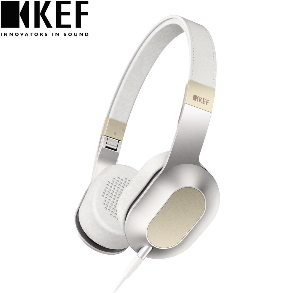 英國 KEF M400 Hi-Fi 耳罩式耳機-香檳白