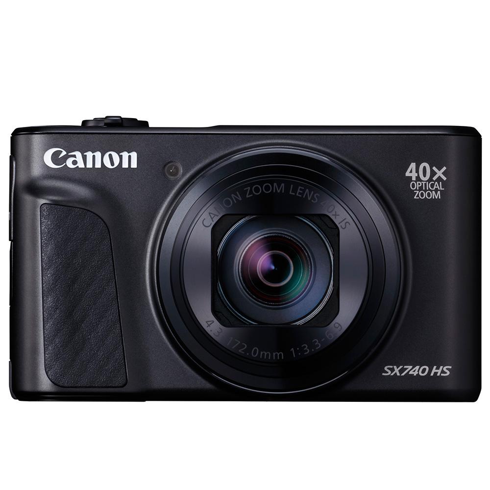 Canon SX740 HS 高倍變焦類單眼(公司貨)_黑色-送相機包+保護貼+讀卡機