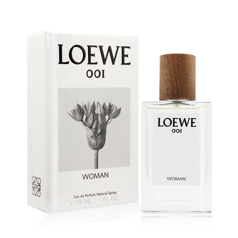 LOEWE 001 WOMAN 女性淡香精(30ml)-國際航空版