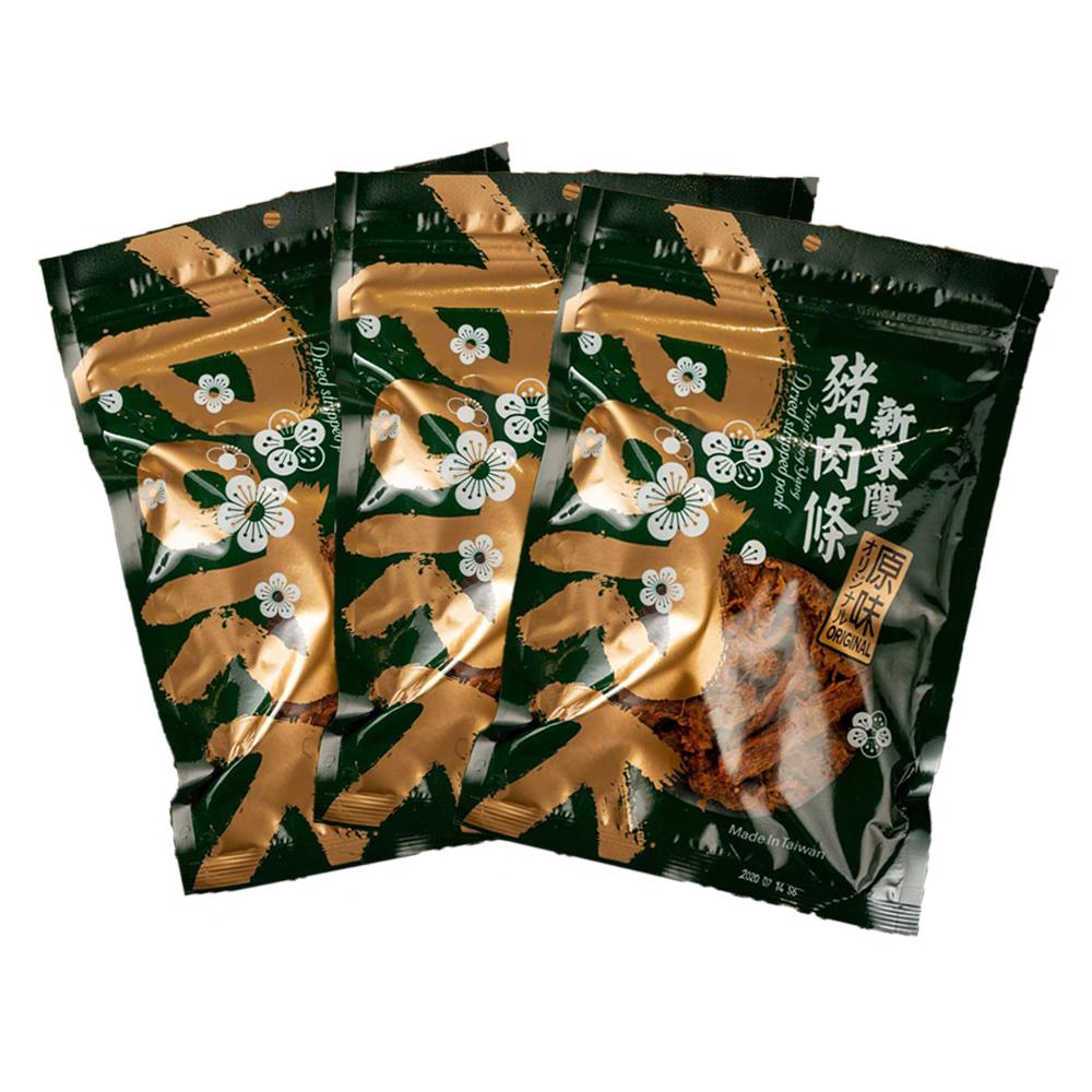【新東陽】豬肉條 (230g*3包)