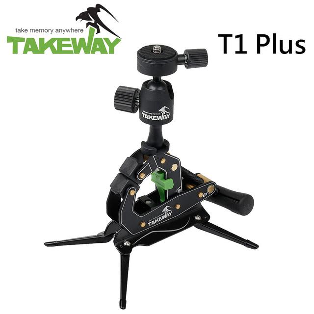 【TAKEWAY】T1 Plus 鉗式腳架-升級版(公司貨)