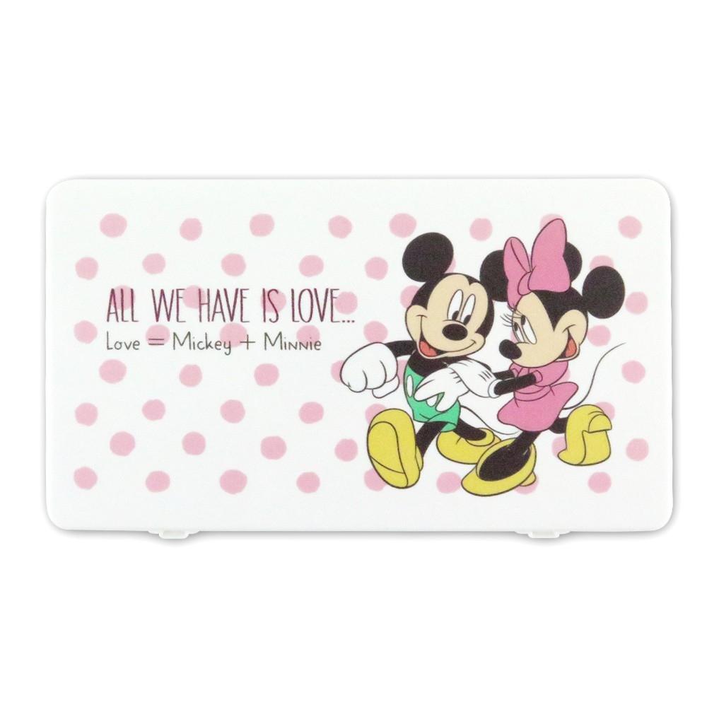 Disney迪士尼系列口罩收納盒_圓點米奇米妮
