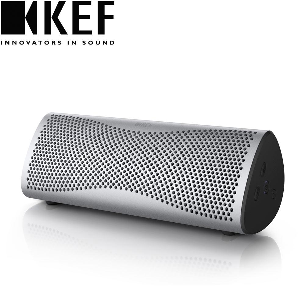 英國  KEF MUO 藍牙無線喇叭 - 銀色