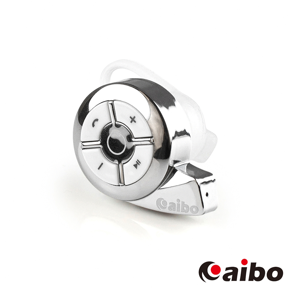 aibo 領導者 BT2 蝸牛藍牙耳機麥克風(V4.0)-銀色