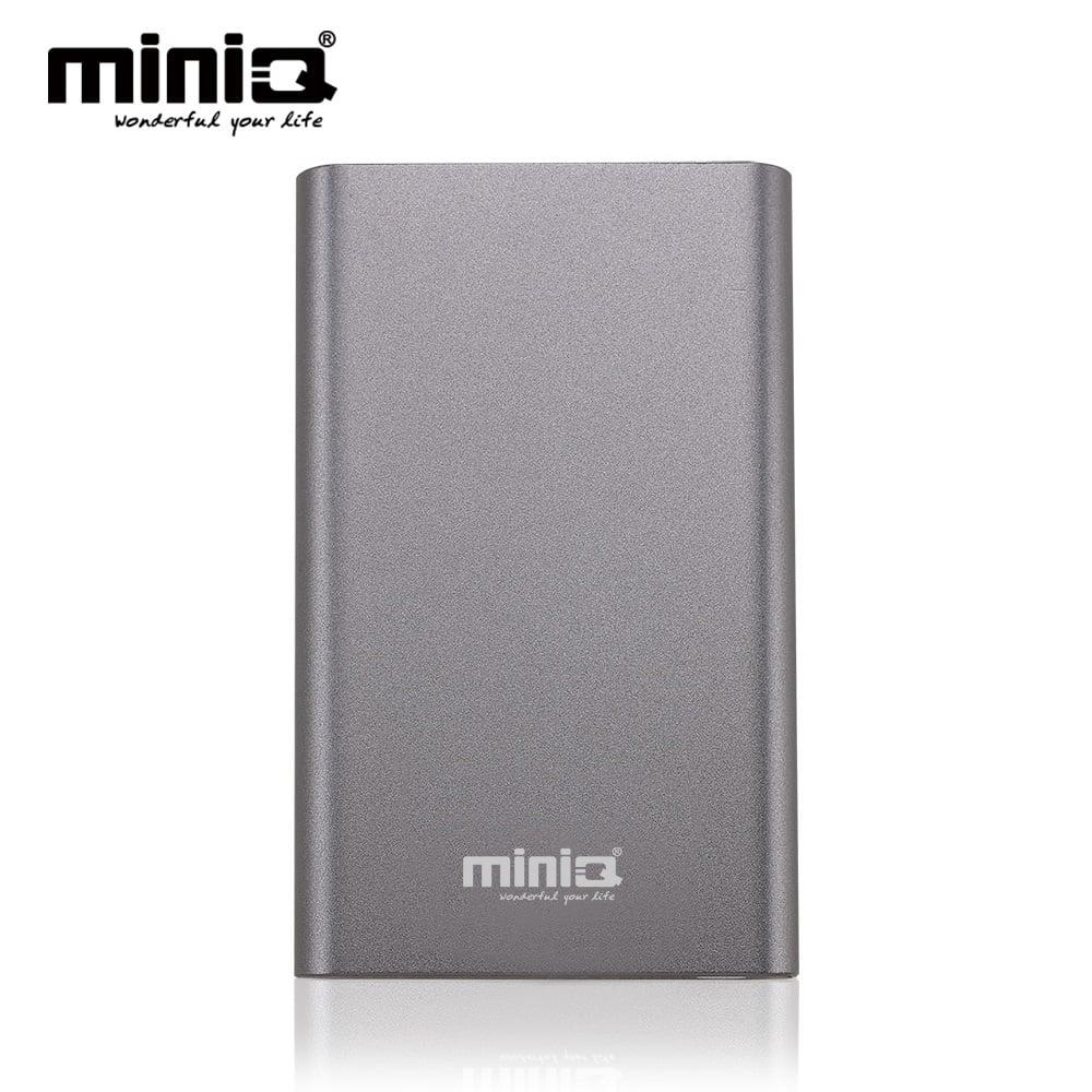 miniQ Coherer 10000 雙USB輸出行動電源 - 星雲灰