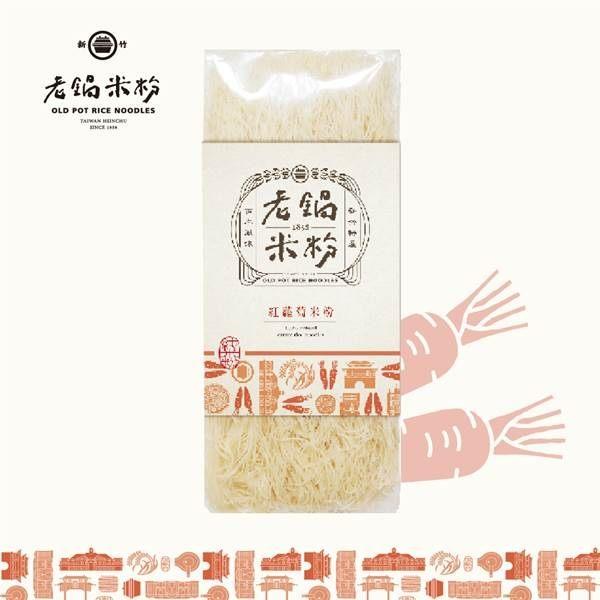 《老鍋米粉》純米米粉蔬菜系列_蘿蔔(200g/包,共2包)