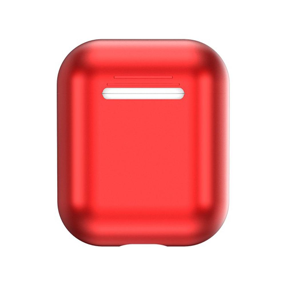 【TOTU台灣官方】AirPods 1代 2代 防摔殼 保護套 電鍍 軟殼 紅色
