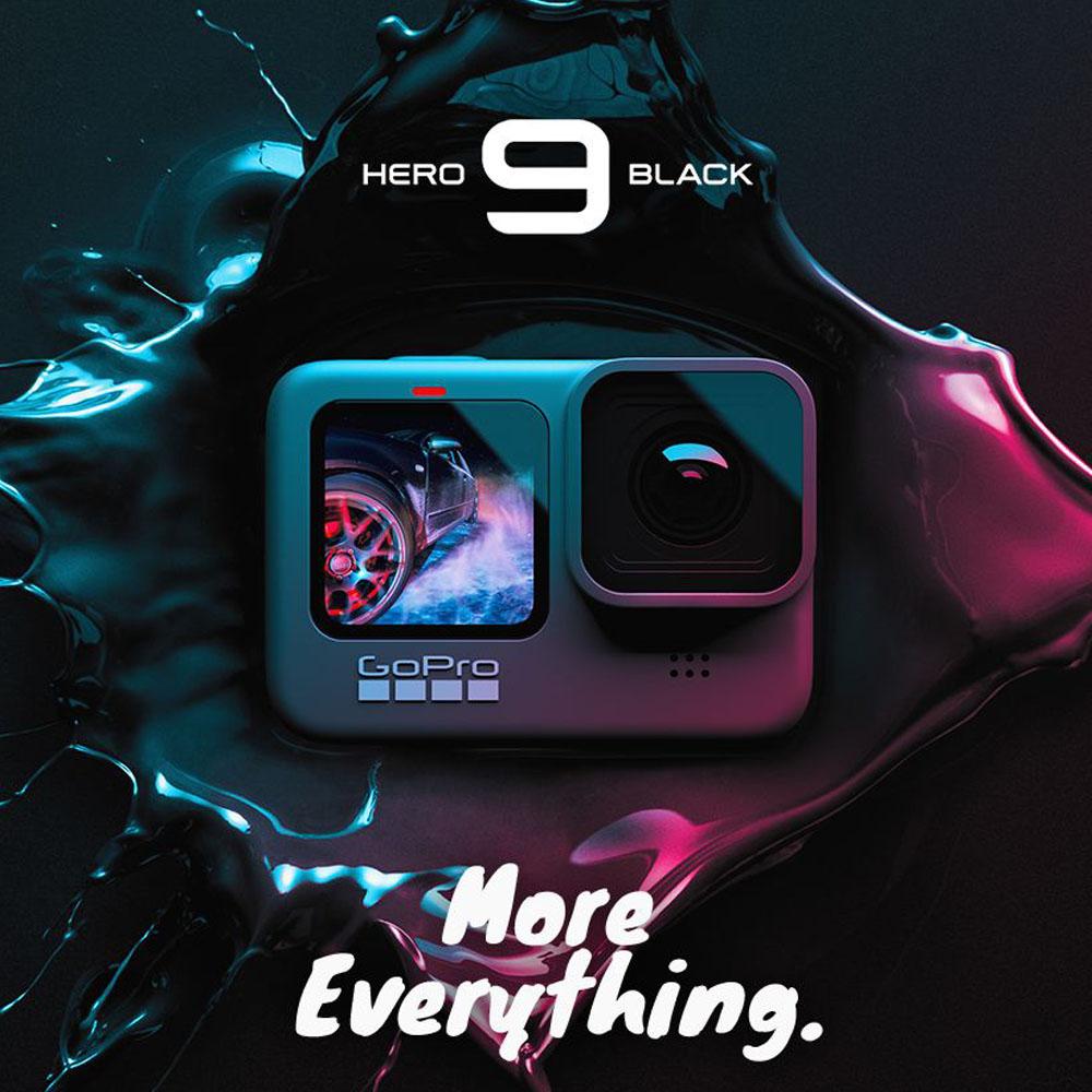 GoPro HERO9 假日組(二顆電池+漂浮手把+磁吸旋轉夾+32G) 再送Gopro保温瓶