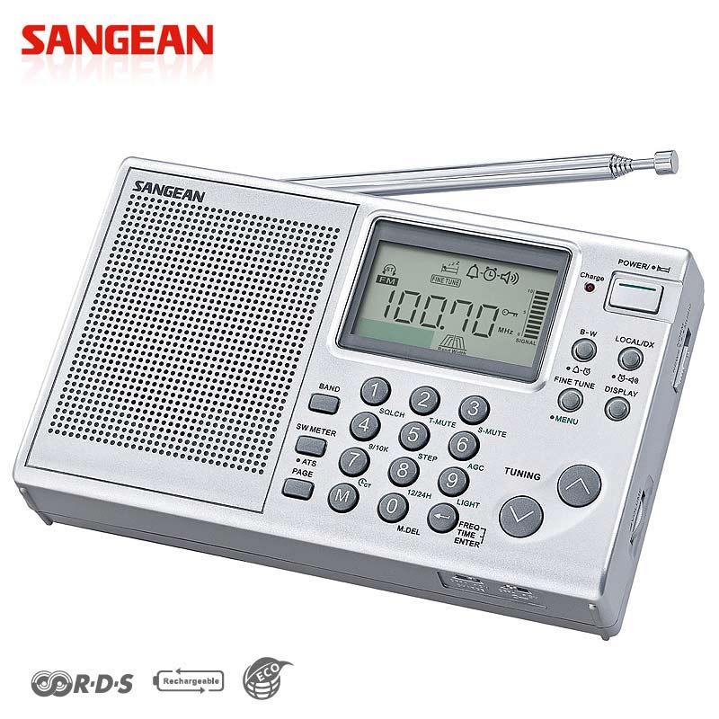 山進SANGEAN ATS-405專業化數位型收音機(調頻立體/調幅/短波) Ni-MH充電功能★一年保固★