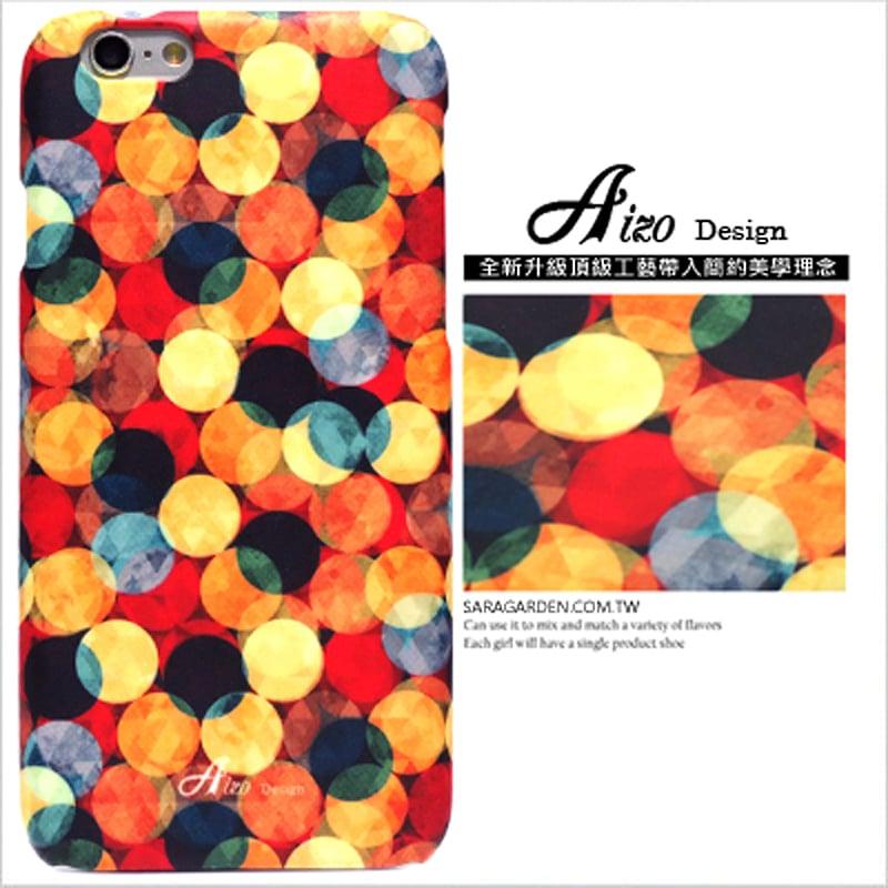 【AIZO】客製化 手機殼 Samsung 三星 Note4 滿版 迷幻 渲染 圓點 保護殼 硬殼