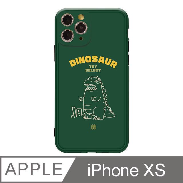 iPhone X/Xs 5.8吋 Deinos胖胖呆吉拉抗污iPhone手機殼